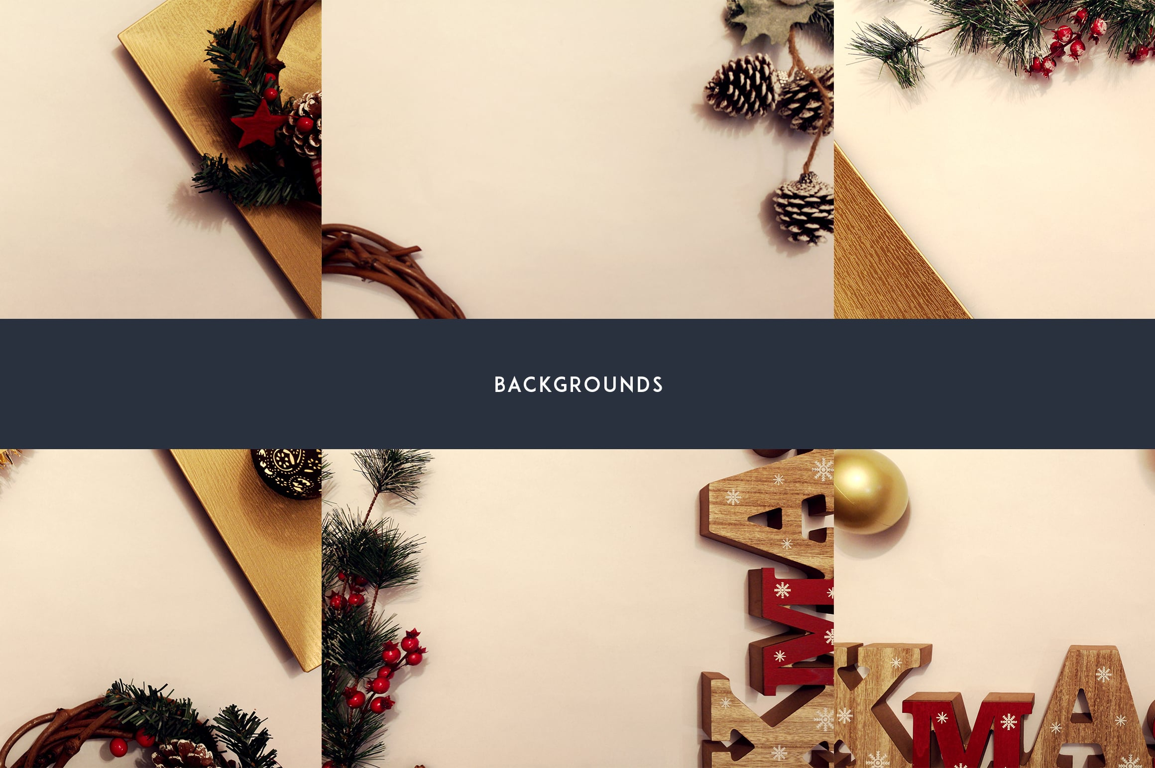 12 Christmas Mockups + Backgrounds - $9 ONLY - 5 2
