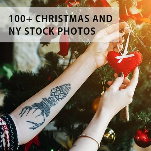 130+ Christmas and New Year Stock Photos - $30 - 600 16 490x490