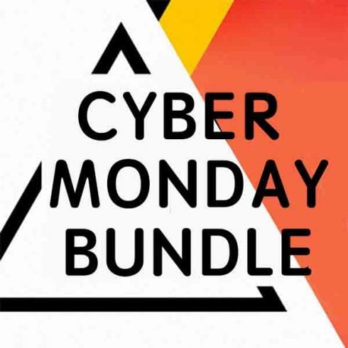 Cyber Monday Bundle: 16 Creative Products for your Designer Toolkit - only $39! - 600 21 490x490