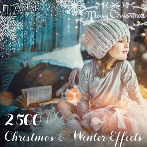 2500+ Christmas & Winter Overlays Bundle - $29 - 600 26 490x490