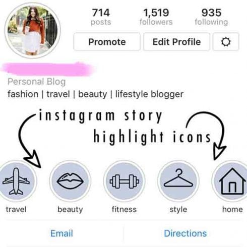 50+ Instagram Story Highlight Icons  - $8 ONLY - 600 4 490x490