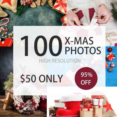 100 High Resolution Christmas Stock Photos - $50 - 600 9 490x490
