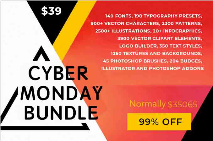 Cyber Monday Deal: 16 Creative Products for your Designer Toolkit - only $39! - Untitled 1 1