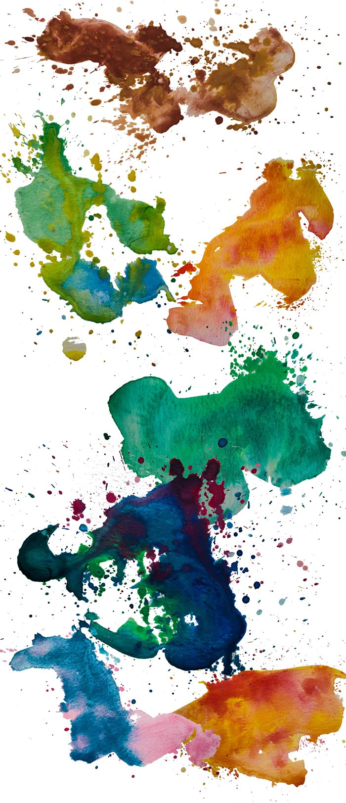 Galaxy Colors Collection: 1604 Elements - $29 ONLY - Watercolor 33