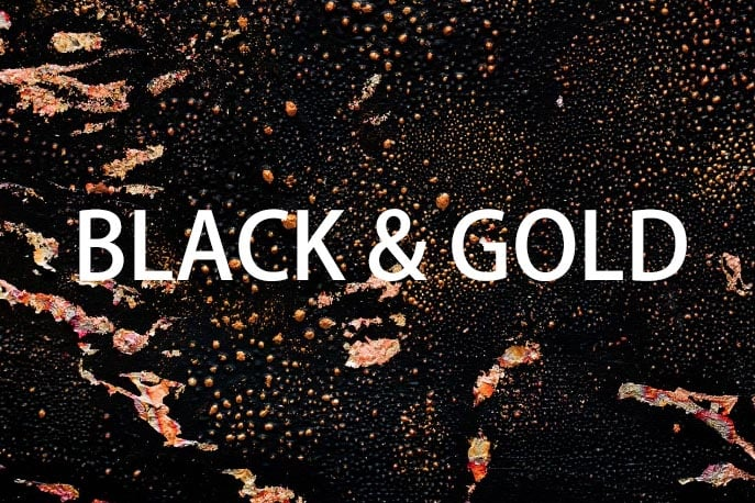 Galaxy Colors Collection: 1604 Elements - $29 ONLY - black gold