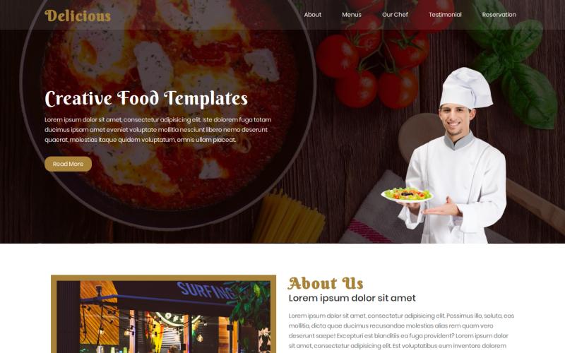 35 Premium HTML Landing Templates - $12 - delicious