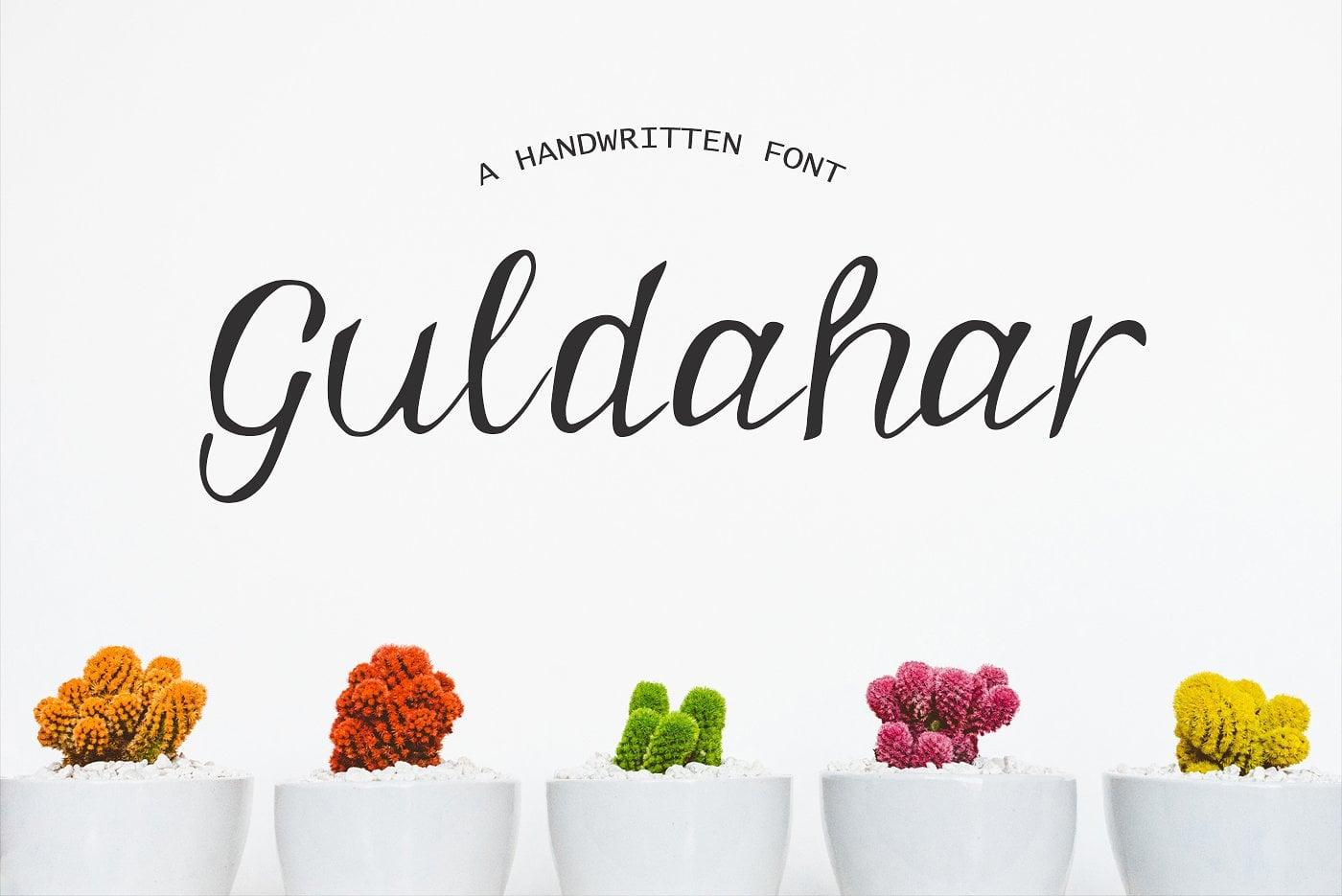 15 Creative Handmade Fonts - $19 ONLY - main image. 4