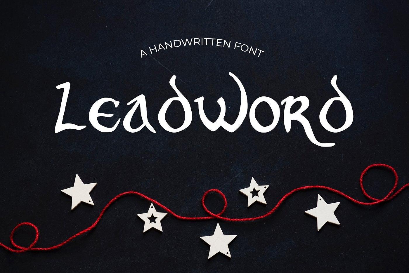 15 Creative Handmade Fonts - $19 ONLY - main image. 9