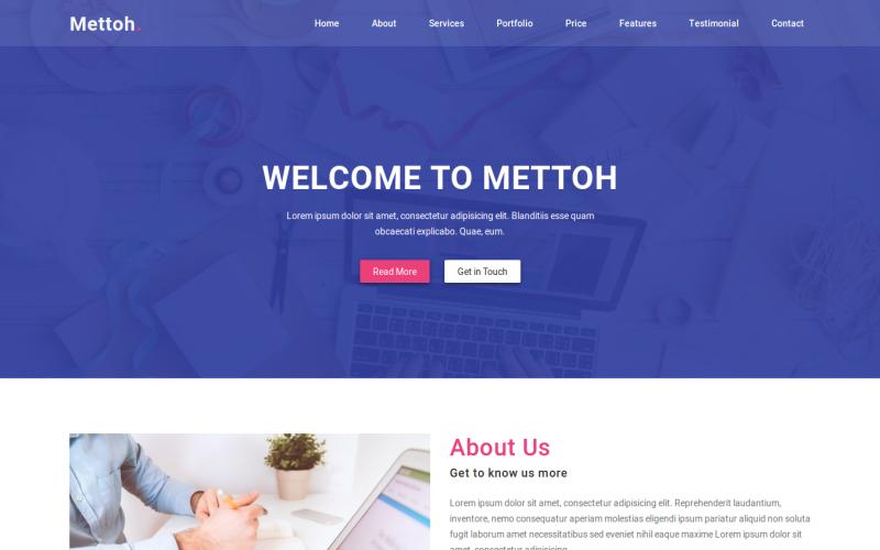35 Premium HTML Landing Templates - $12 - mettoh