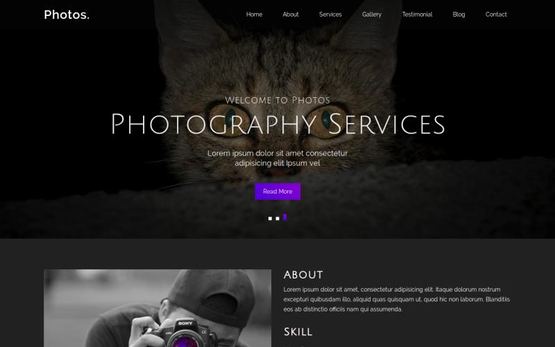 35 Premium HTML Landing Templates - $12 - photos