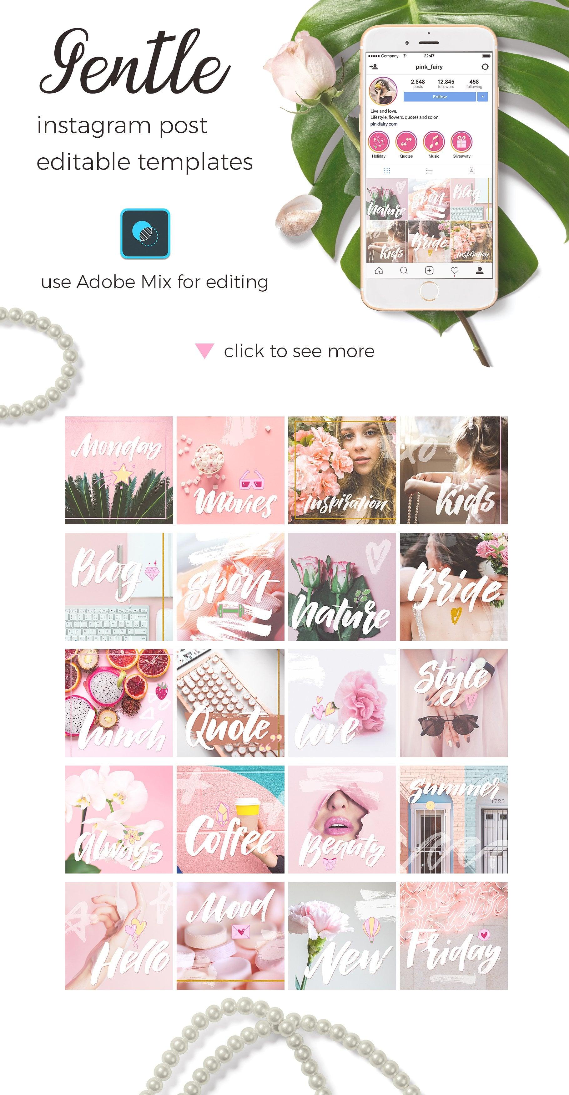 Insta Lady: Instagram Highlight Icons & Posts - $22 - prev6