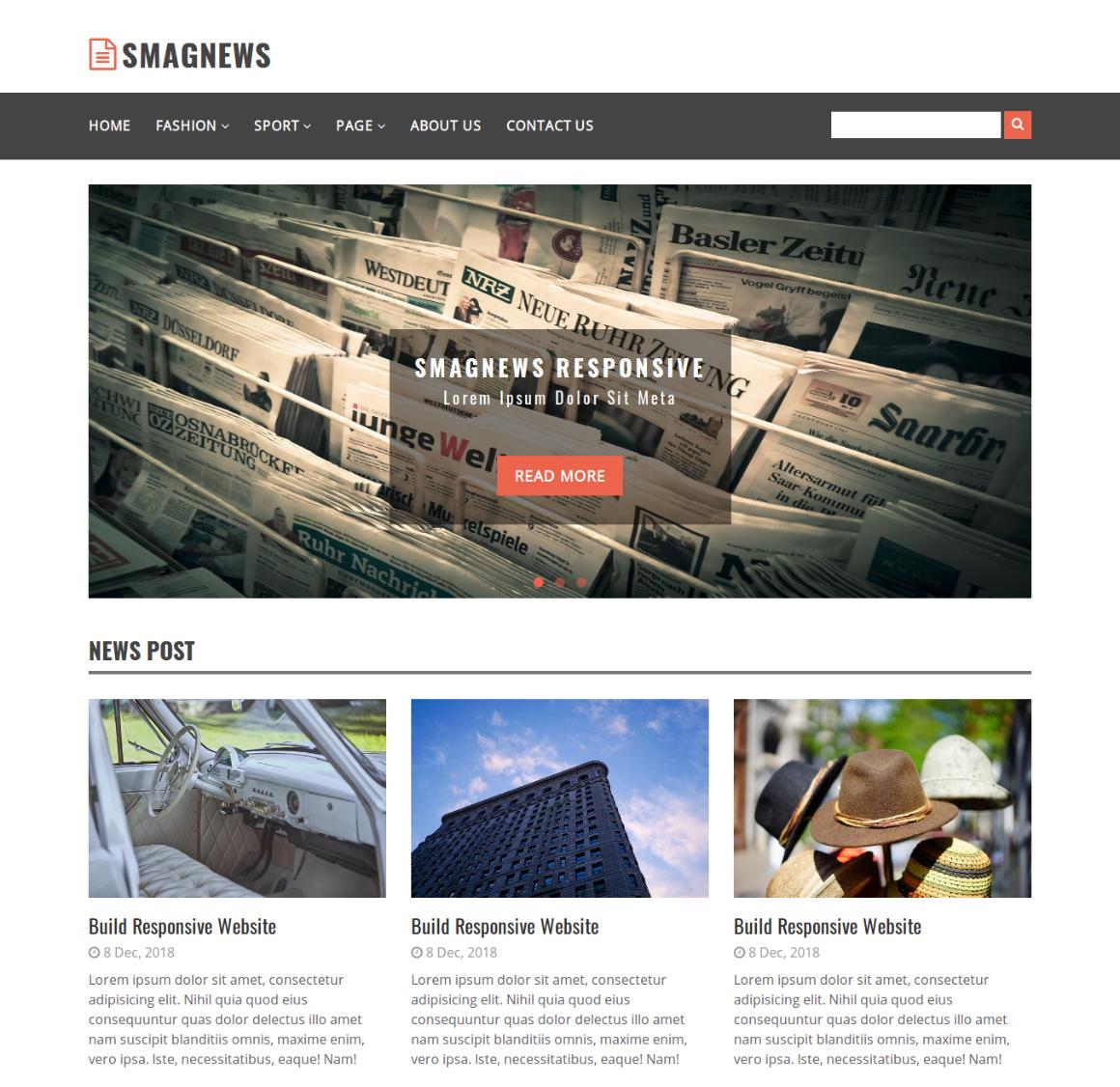 35 Premium HTML Landing Templates - $12 - smagnews