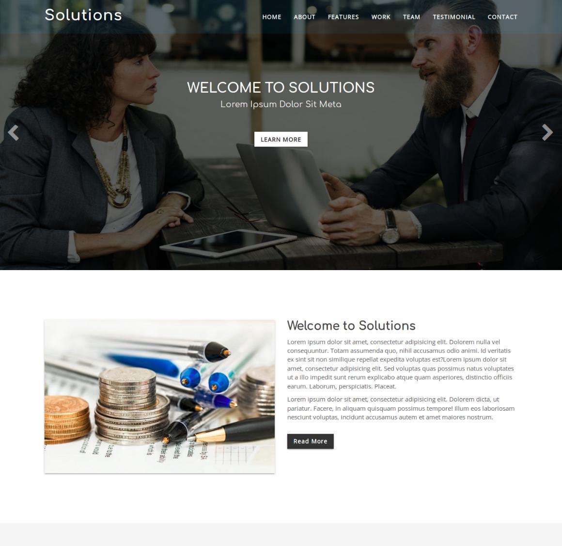 35 Premium HTML Landing Templates - $12 - solutions
