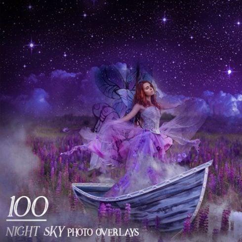 100 Night Sky Overlays - $9 - 600 1 490x490