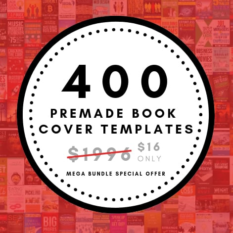 Massive 400 E-Book Cover Templates Mega Bundle -$16 - 600 9