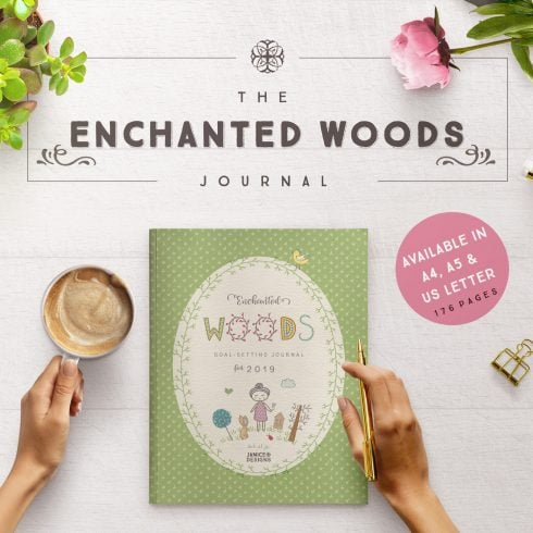 Author - Enchanted Woods Journal Cover Page 1600px 490x490