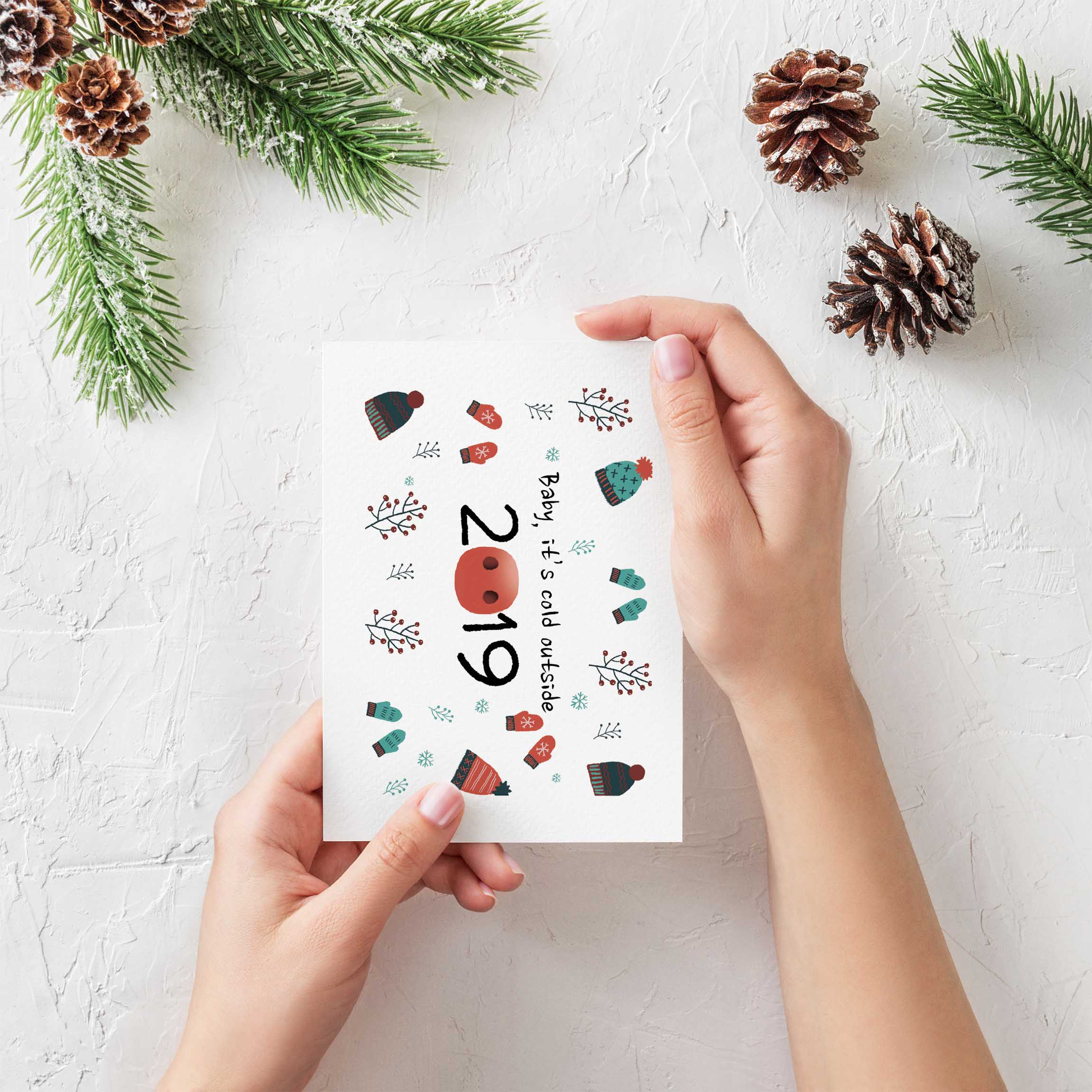Best Greeting Cards for Perfect Holiday Gifts: 2019 - Free Christmas Greeting Card Mockup