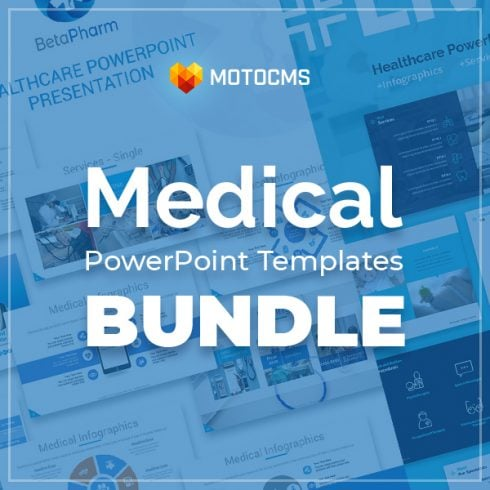 Medical PowerPoint Templates in 2020. Ultimate Bundle to Create an Amazing Health Presentation - Medical 1 490x490