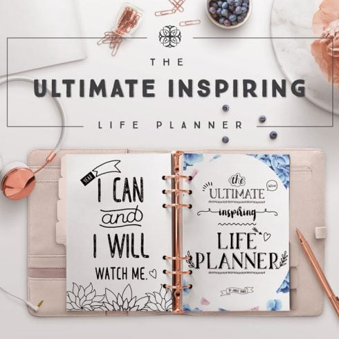 Author - The Ultimate Life Planner Cover Page JD 490x490