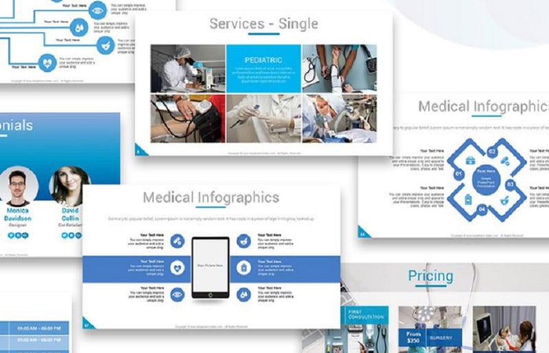 Medical PowerPoint Templates in 2020. Ultimate Bundle to Create an Amazing Health Presentation - beta2