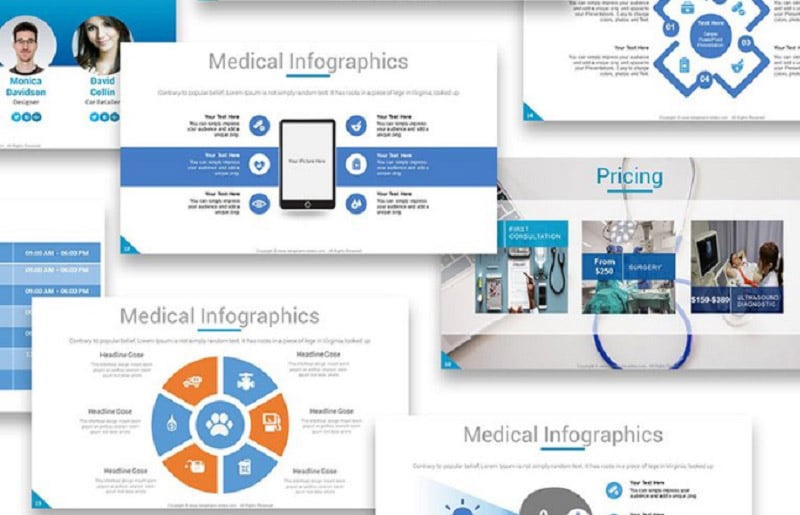 Medical PowerPoint Templates in 2020. Ultimate Bundle to Create an Amazing Health Presentation - beta4