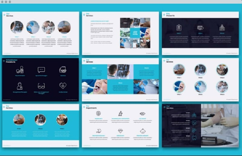 Medical PowerPoint Templates in 2020. Ultimate Bundle to Create an Amazing Health Presentation - lively3
