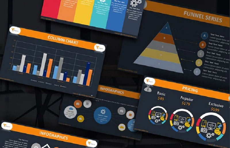 Creative PowerPoint Templates in 2020. Bundle to Design an Effective Presentation - origami2
