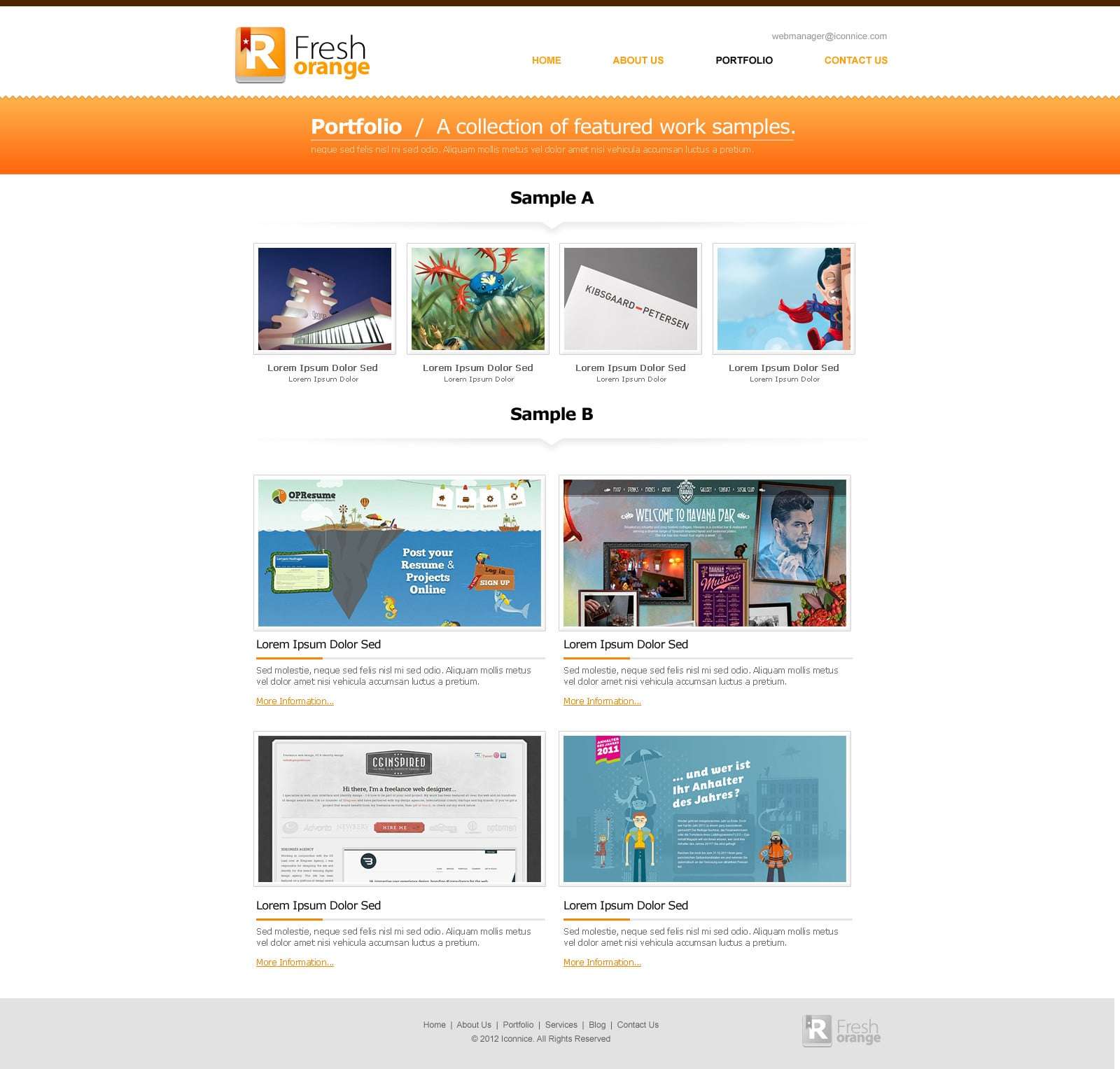 IconNice Big Bundle: 25 iOS app web templates and more! - portfolio