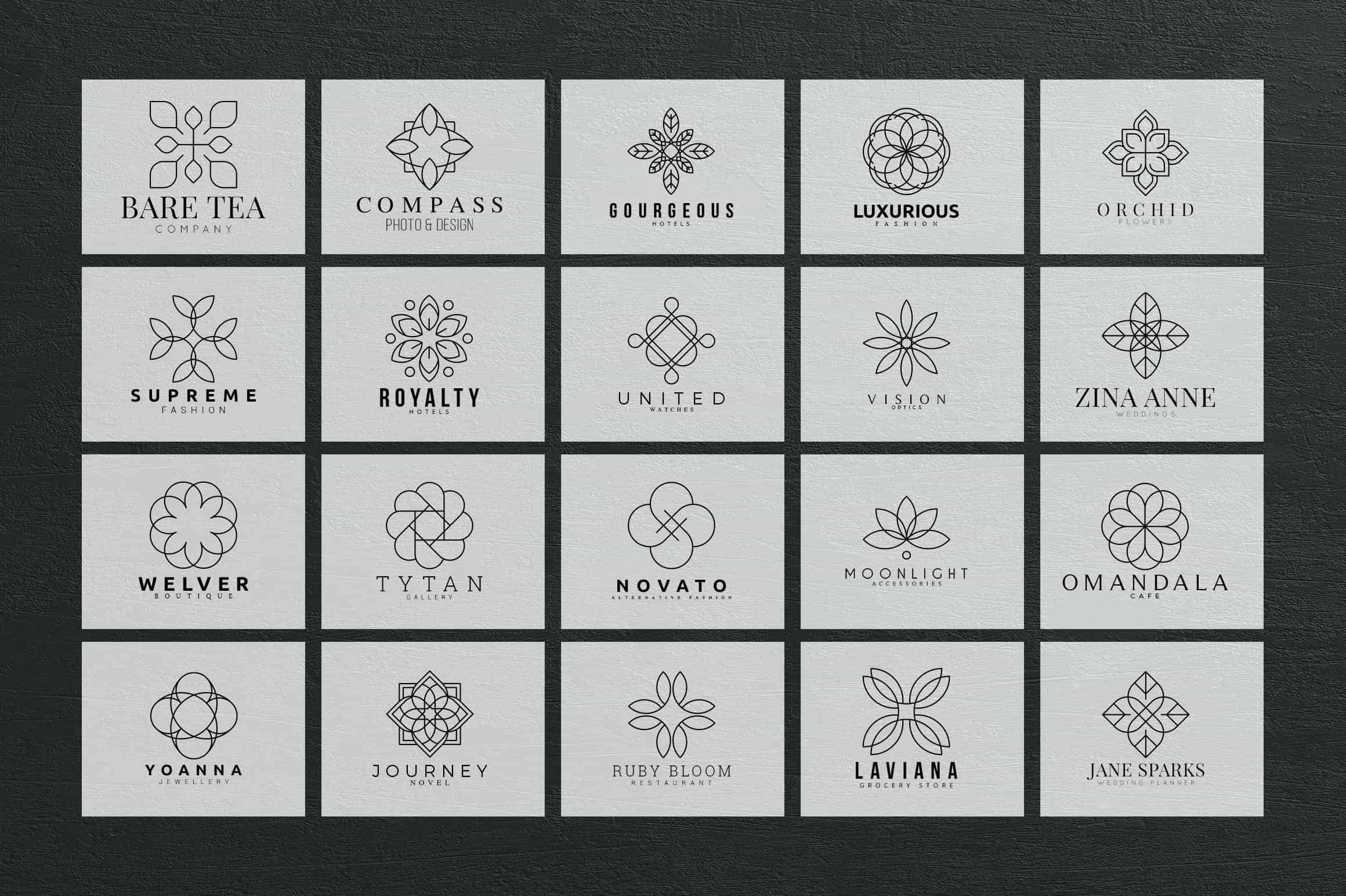 Mega Bundle - 600 Logo Templates - $29 - 17 min