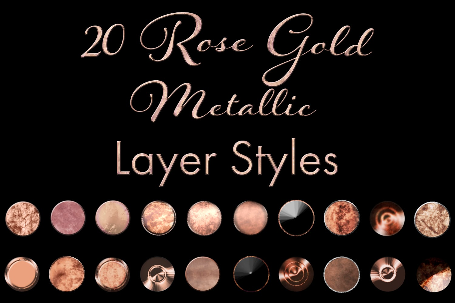60 Best Photoshop Layer Styles - Gold Metallic, Rose Gold, Silver Metallic - $7 - 18609631bae6d5f84af0daf54c90270e resize