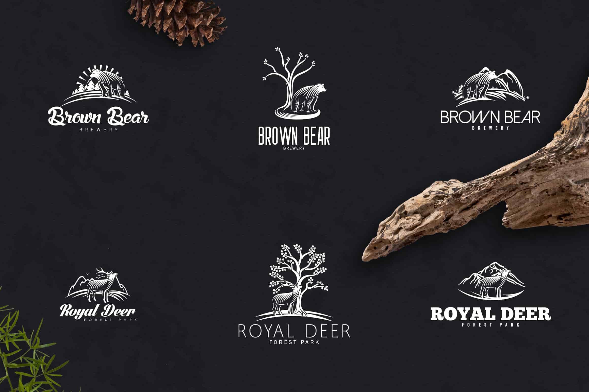 Nature Creation Kit: Fonts, Logo, Elements