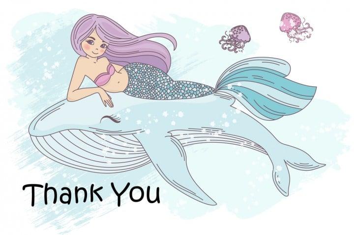 Little Mermaid Clipart: Mermaid Tail Clipart Vector Illustrations - $8 - 3110967ed79a46086ac0344f9e1de5c08df66894