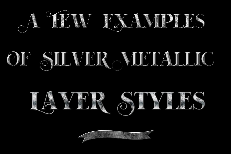 60 Best Photoshop Layer Styles - Gold Metallic, Rose Gold, Silver Metallic - $7 - 3f41bdf37ad3256e687fc9d1ba2c2931 resize