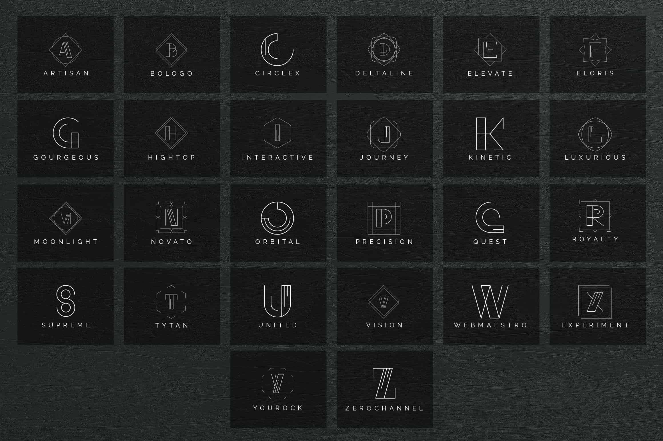 Mega Bundle - 600 Logo Templates - $29 - 42 min