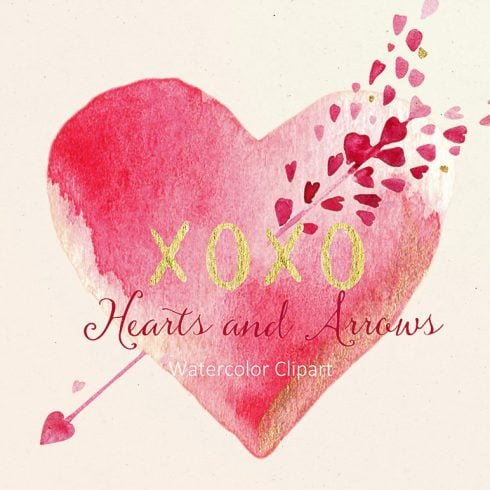 Hearts and  Arrows Valentines Clipart - $10 - 600 16 490x490