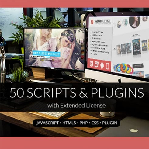 50 Scripts & Plugins with Extended License - Only $19 - 600 6 490x490