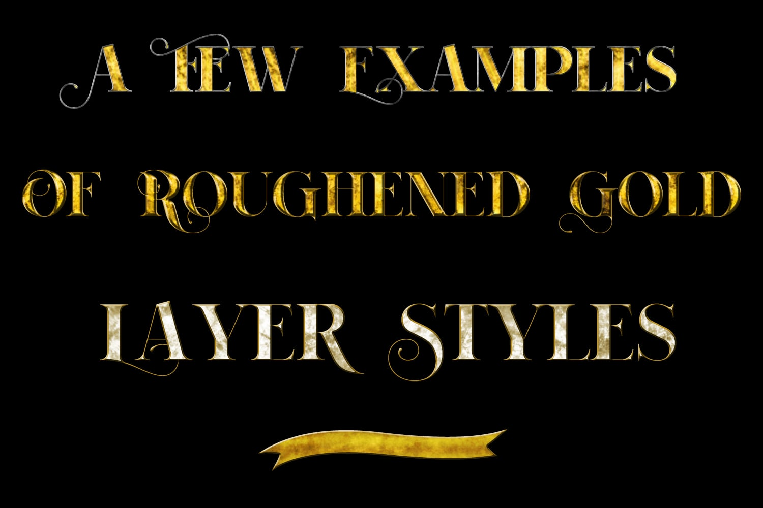 60 Best Photoshop Layer Styles - Gold Metallic, Rose Gold, Silver Metallic - $7 - 662ee22ad93759ac27a38ee8299b2d23 resize
