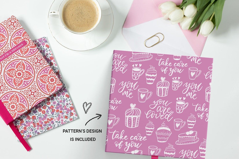 You + Me: Handdrawn Design Kit - $12 - Love Presentation mockup1 min