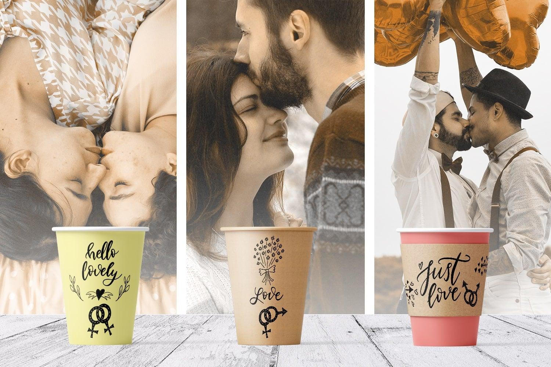 You + Me: Handdrawn Design Kit - $12 - Love Presentation mockup5 min