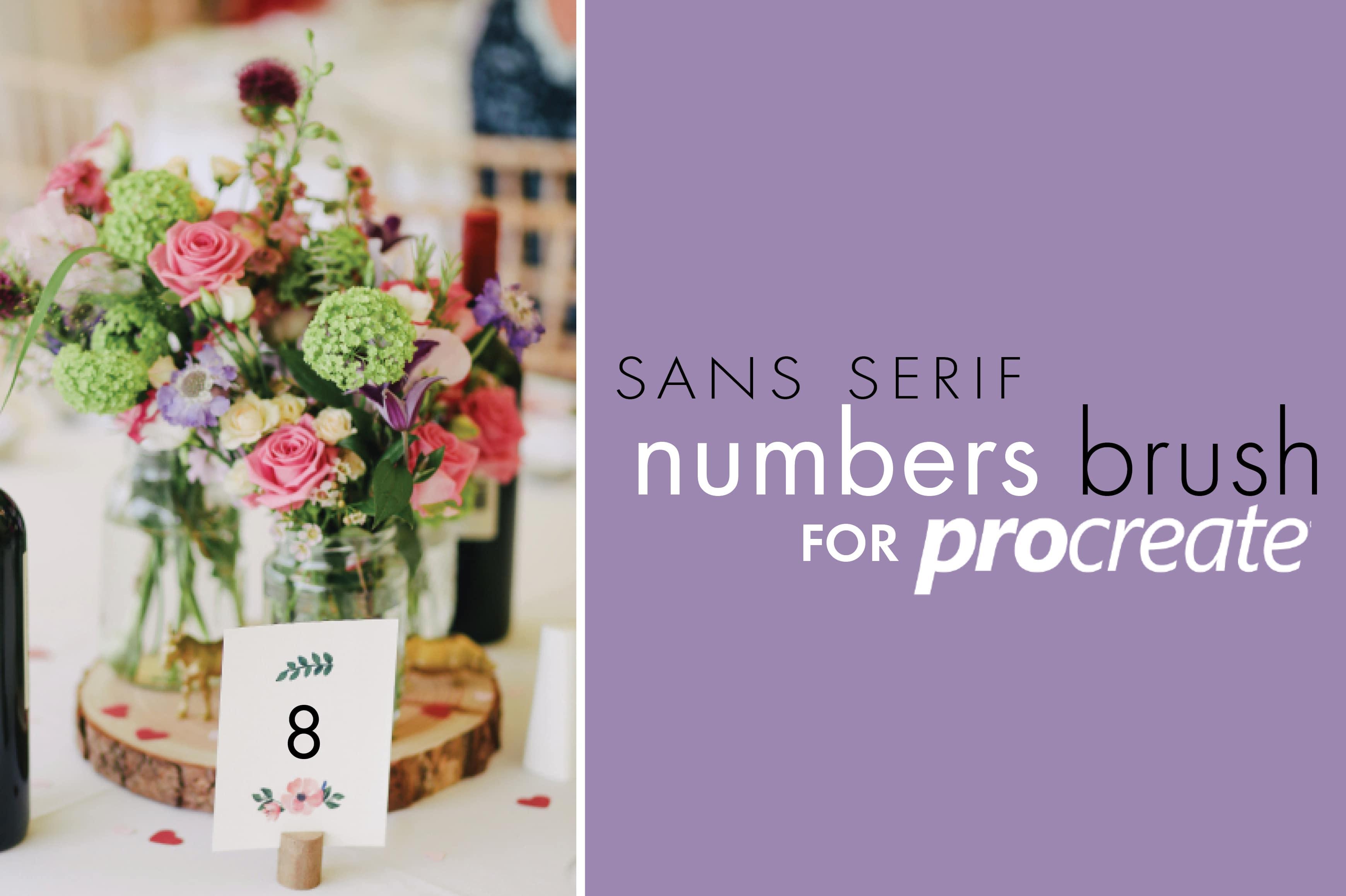 Procreate Sans Serif Type Kit