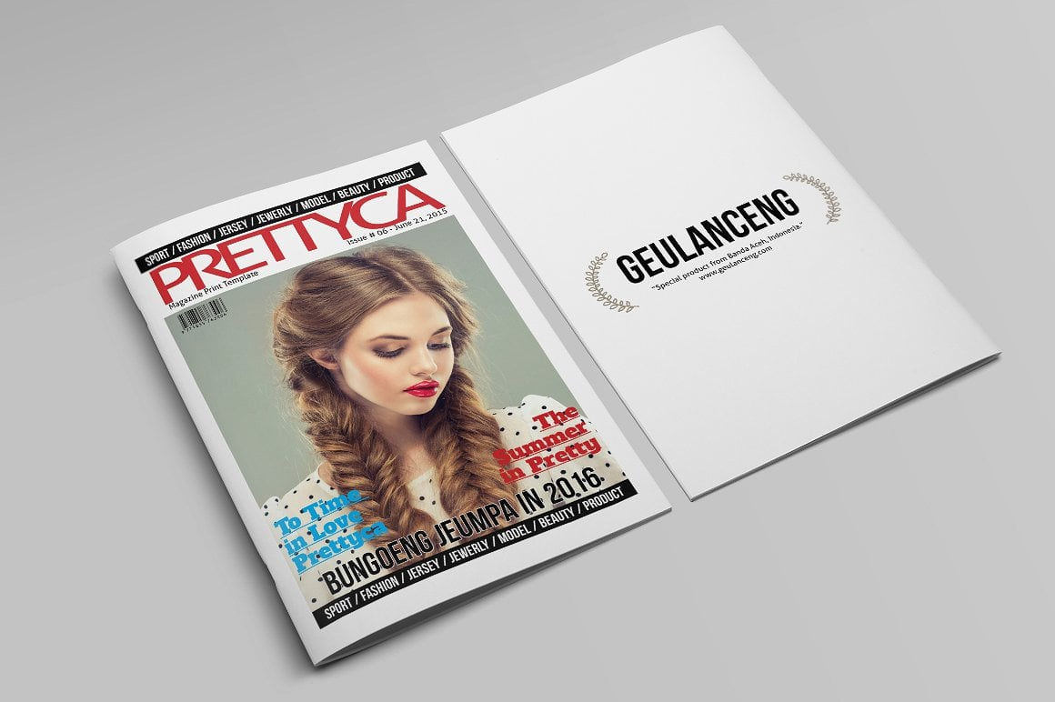 Prettyca Magazines [30 inDesign Pages] - $5 - 11