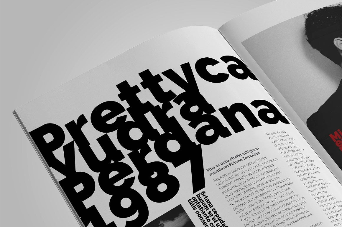 Minimal Magazine A4 - $5 - 12