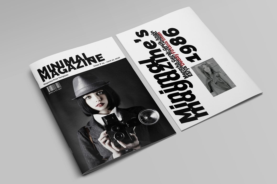Minimal Magazine A4 - $5 - 14