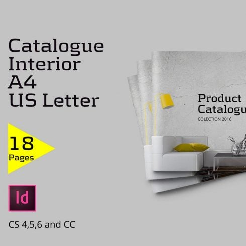 Catalogue Interior Template - just $5 - 600 16 490x490