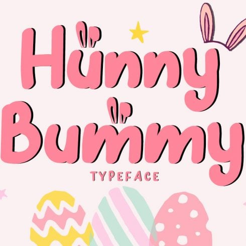 Hunny Bummy Easter Crafty Font - $8 - 600 21 490x490