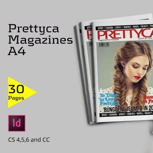 Prettyca Magazines [30 inDesign Pages] - $5 - 600 24 490x490