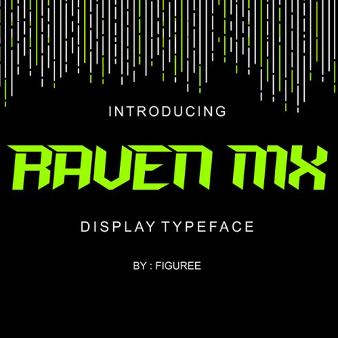 Raven MX Display Font - $4 - 600 30 490x490