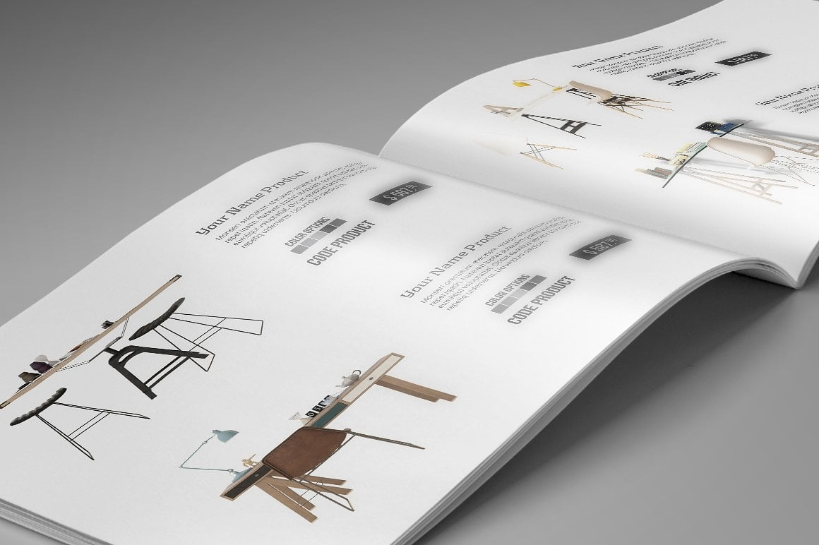 Catalogue Interior Template