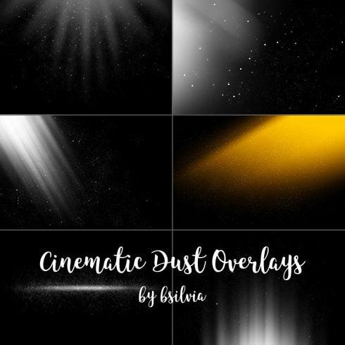 50 Cinematic Dust Photo Overlays, Bokeh Digital Backdrop, Cinematic Dust Photo Layer, Bokeh Light Effects, Photoshop Overlay