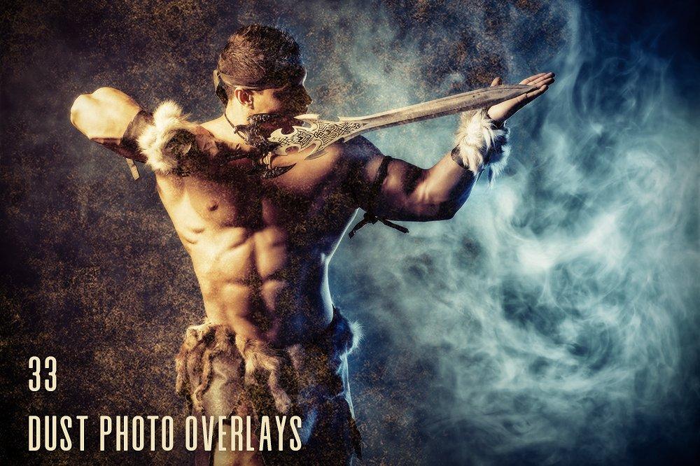 33 Dust Photo Overlays - $9 - main image
